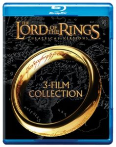 LOTR Blu Ray Trilogy