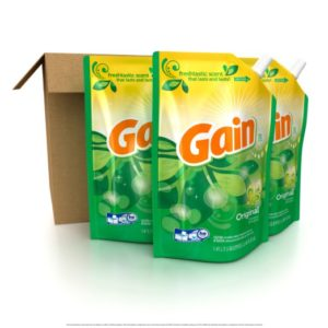 I don't know what Gain's slogan is, but if I did, I'd put it here.