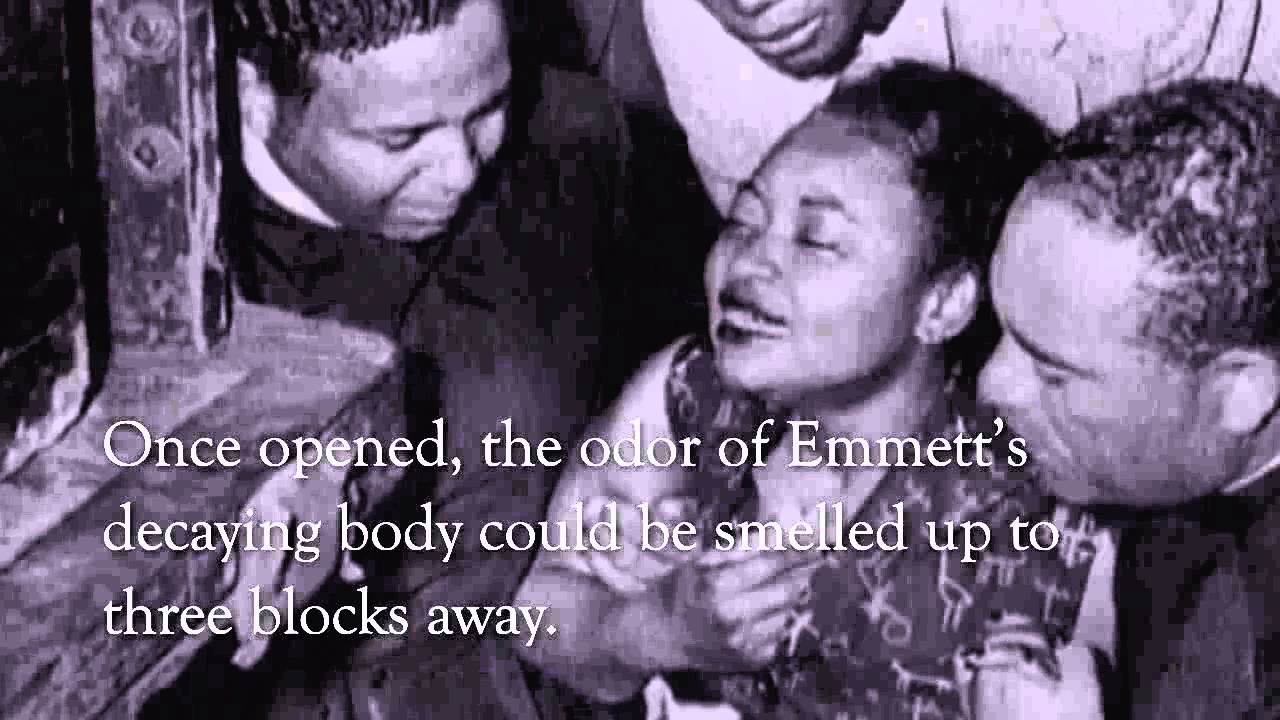 murder of emmett till They murdered that boy, and to hide their dastardly act, they tied barbed wire to his neck and to a heavy gin fan and dumped him into the river for the turtles and the fish.