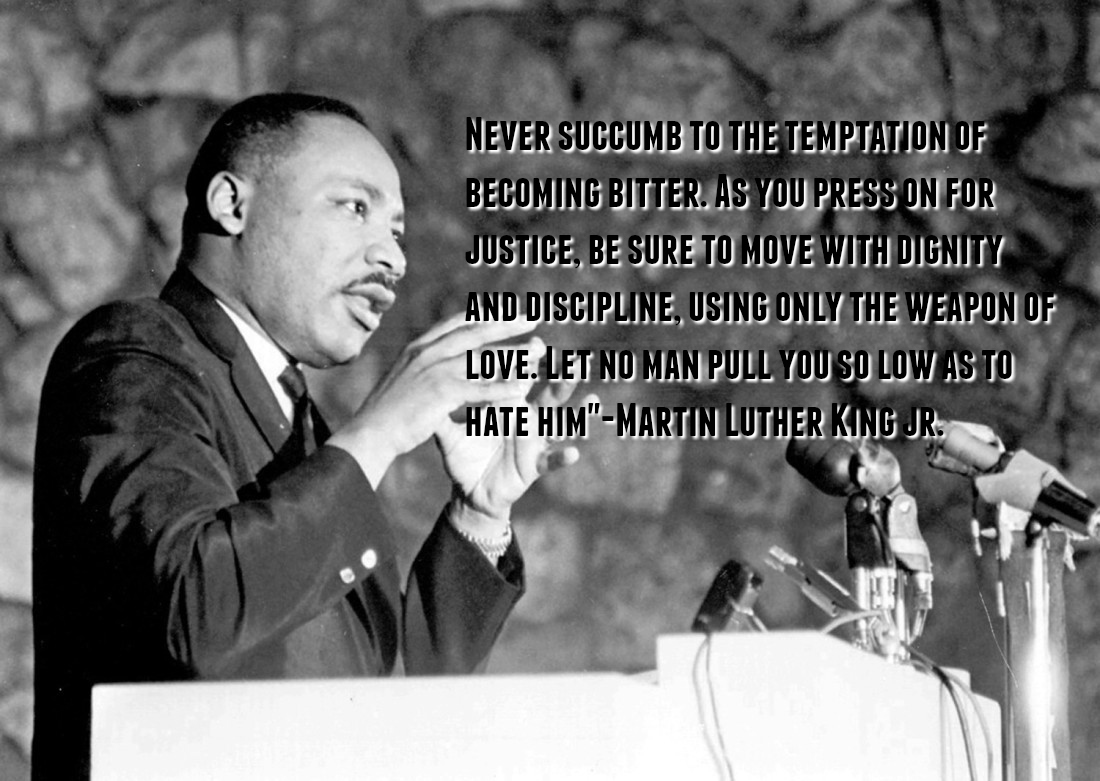 Martin Luther King Love Quotes Top Ten Martin Luther King Jrquotes In Celebration Of A Life