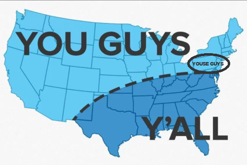 Y'all vs. You Guys: Differences Between Life in the South and Life in California #1